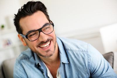 Guy in Glasses | McKnight Signature Dental